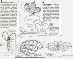 crochelinhasagulhas: Borboleta de crochê