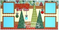 Scrapbook Page Kit Christmas Decorating by TheScrapbookEmporium