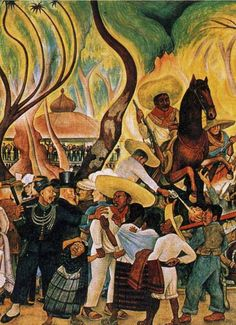 Rivera painted murals among others in Mexico City, Chapingo, Cuernavaca, San… Diego Rivera Art, Diego Rivera Frida Kahlo, Frida And Diego, Mexican Artwork, Mexican Folk Art, Arte Latina, Industrial Artwork, Statues, Mexico Art