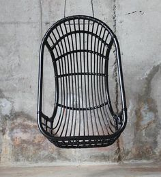 Black Rattan Hanging Chair | Home. | Pinterest | Shape, Chairs And Smooth
