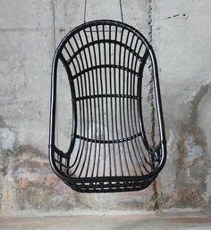 Furniture: Muubs in Denmark - Remodelista Rattan, Outdoor Wicker Chairs, Hanging Hammock Chair, Swinging Chair, Hanging Chairs, Pub Chairs, Patio Chairs, Table Sofa, Bird Cage Design