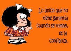¡Una gran verdad,Mafalda!