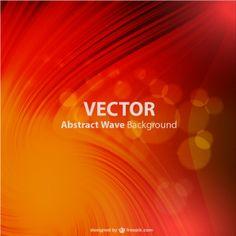 Vector wavy background design  Free Vector