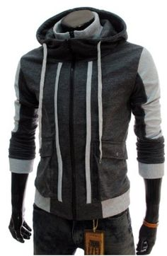 TheLees #Mens #Casual Slim Fit Hood Cotton #Jacket #TheLees see it on Amazon Mens Fashion $20 - $37.99