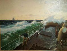 Hans Gude.  Museo marítimo