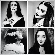 Vintage Creepy Ladies