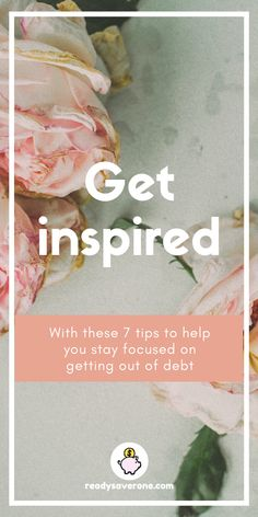 7 Ways to Stay Inspired on Your Debt-Free Journey Saving Ideas, Money Saving Tips, Money Tips, Debt Free Living, Savings Challenge, Get Out Of Debt, Budgeting, Posts, Group