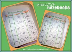 It is not enough to have English or Math notebooks.  Students need interactive Mathematical books they can look back at and use for day to day work.