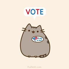 pusheen says vote please!