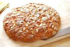 Pan de calabaza casero. Receta de Halloween Pumpkin Recipes, Deli, Baked Potato, Great Recipes, Breads, Food And Drink, Baking, Ethnic Recipes, Molde