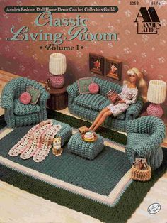 Classical living room for Barbie. Discussion on LiveInternet - Russian Service Online Diaries
