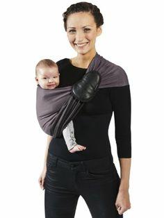 Une écharpe de portage {La petite écharpe sans noeud de Je Porte Mon Bébé}