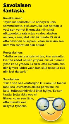 Vitsit: Savolaisen fantasia - Kohokohta.com