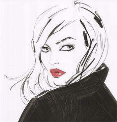 Jacqueline Bissett is an illustrator, expertized in Hand drawn and book illustrations – fashion, markers