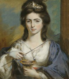 GEORGIANA SPENCER DUCHESS OF DEVONSHIRE AS CIRCE by the lost gallery, via Flickr