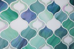 Maven Art Glass Mosaic by Edgewater Studio, via Flickr