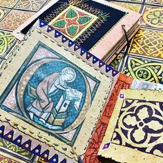 Create stunning papers & embroidery designs using Colouricious wooden printing blocks available to purchase on the Colouricious website Paper Embroidery, Embroidery Designs, Textile Recycling, Medieval, Printing, Textiles, Quilts, Blanket, Website