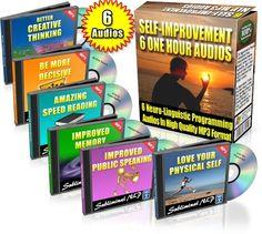 Six Subliminal NLP Self-Improvement Audios products-i-love personal-development