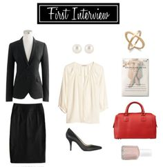 Work Wednesdays: Easy Interview Outfits - Capitol Hill Style