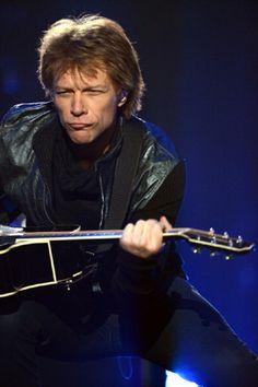 Jon Bon Jovi performs during Because We Can - The Tour at the MGM Grand Garden Arena on 20 April 2013 in Las Vegas, Nevada
