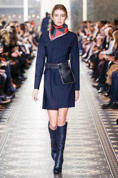 A runway look from the Tory Burch Fall/Winter 2016 Fashion Show #ToryBurchFW16 #nyfw @ToryBurch
