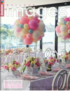 [New] The Best Home Decor (with Pictures) These are the 10 best home decor today. According to home decor experts, the 10 all-time best home decor. Kids Party Centerpieces, Balloon Centerpieces, Balloon Garland, Balloon Decorations, Birthday Decorations, Baby Shower Decorations, Balloon Party, Shower Party, Baby Shower Parties