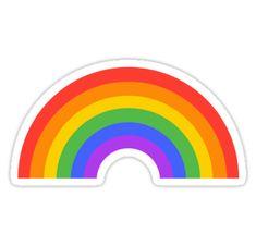 Rainbow Unicorn Sticker Unicorns Pinterest Unicorn