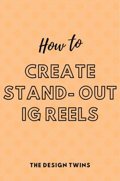 Learn everything you need to know about Instagram Reels. Step by step, how to create and master these 15 second videos. All your questions answered right here! Brand Marketing Strategy, Positive Outlook On Life, Instagram Marketing Tips, Instagram Story Ideas, Social Media, How To Plan, Learning, Create, Videos