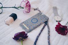 @setnakarimkhani #idealofsweden #moroccanzellige #phonecase #fashion #accessories #flowers