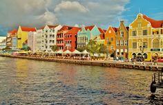 Curacao, Netherland Antilles  Honeymoon!