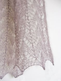 """Knitting - Free Pattern: """"Florence scarf"""" - Level: easy - Needles: 4mm/US6."""