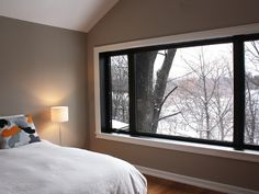 Cedarvale Ravine - Special attention was paid to preserve a towering maple at the house's corner.  From the master bedroom window you can almost reach out and touch it.