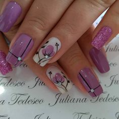 Manicure, Glitter, French Nails, Nail Designs, Make Up, Nail Art, Painting, Drawings, Hair