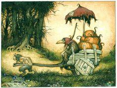 a-faerietale-of-inspiration: larry macdougal...   illustrator