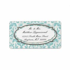 Aged Distressed Damask Silver Bling Look Wedding Labels by AudreyJeanne for $16.50 http://www.zazzle.com/aged_distressed_damask_silver_bling_look_wedding_label-106286782842017857 #zazzle