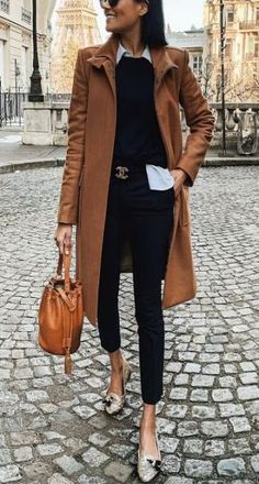 25 Easy Winter Work Outfits That Nail Cold-Weather Dressing - 25 Easy Winter Wor. 25 Easy Winter Work Outfits That Nail Cold-Weather Dressing - 25 Easy Winter Wor. 25 Easy Winter Work Outfits That Nail Cold-Weather Dressing - 25 E. Classy Outfits, Stylish Outfits, Classy Dress, Stylish Dresses, Dress Coats For Women, Trajes Business Casual, Picture Outfits, Winter Outfits For Work, Winter Office Outfit