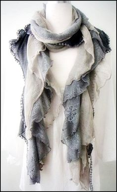 Romantic scarf