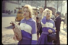 Rare color shots from master of street photography Garry Winogrand...