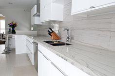 White Macaubas Quartzite, Contemporary, Kitchen, Exquisite Kitchen Design |  Kitchen Dreams | Pinterest | White Macaubas Quartzite, Kitchen Design And  ...