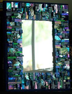 Mosaic Mirrors-05 by tinytilemosaics (Sally), via Flickr