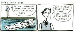 The Great Gatsby jokes... haha