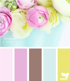 bouquet color #ColorpaletteforKCH