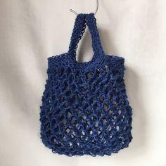 Istället för plast! – garnomera Plast, Loom, Straw Bag, Knitting, Fabric, Pattern, Diy, Inspiration, Accessories