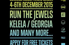 Run The Jewels and Kelela to headline Converse Rubber Tracks London takeover in December