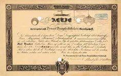 K.k.priv. I. oest. Donau-Dampfschiffahrts-Gesellschaft Actie 500 Gulden 1.9.1840 (R 12).