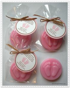 20 Baby Feet Soap Favors by brownbagbathbars on Etsy, $36.00