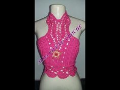 Top cropped sensual em crochê (1°parte) # Elisa Crochê - YouTube