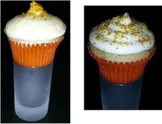 Buttery Nipple Cupcake from Sonny's Sweets...butterscotch schnapps cake with Bailey's cream cheese icing