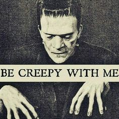 Image uploaded by Amy Melampy. Find images and videos about Halloween, creepy and Frankenstein on We Heart It - the app to get lost in what you love. Halloween Horror, Fall Halloween, Halloween Quotes, Halloween Party, Halloween Costumes, Halloween Pictures, Halloween Crafts, Halloween Decorations, Dark Romance