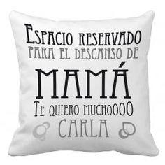 Cojín personalizado Mamá